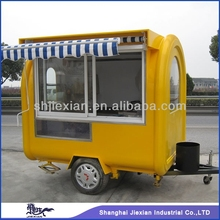 2015 New Arrival!!! Best Designed towing type fast food cart