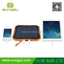 Portable usb solar travel charger for samsung mobile phone for your vietnam air travel new invented products in UK 2016