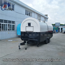 Best Selling Food Trailer Trailer/mobile Tricycle Car Selling Food Prices/mobile Snack Cart