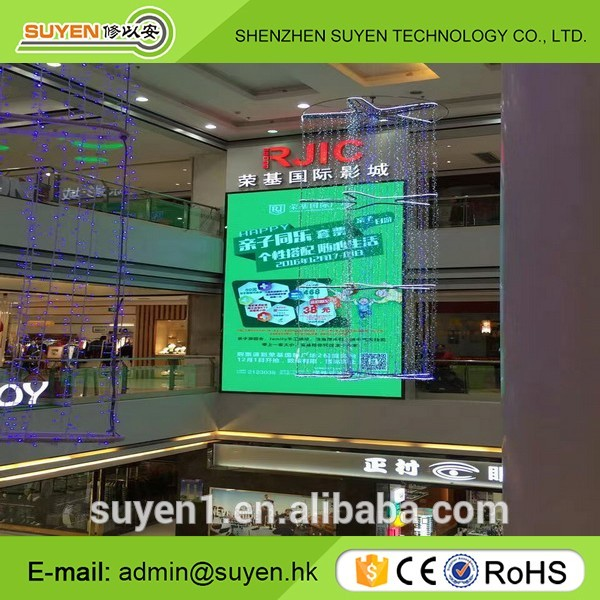 P3 indoor led video wall/fixed advertising led screen panel/multi color led display