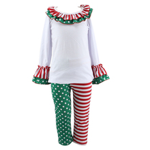 2015 Hot Sale Winter Christmas Latest Style Fashion Design Children Girl Wholesale Fashion Adult Baby Girl Clothing