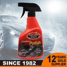 Eco-friendly bio-tech non-wax car leather seat cleaning care