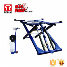 Tongrun Portable Hydraulic Scissor Car Lift Mid-rise QJY-S3