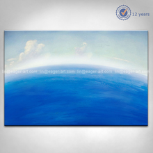 Handmade Abstract Sky Oil Painting For Living Room
