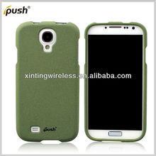 2 pcs Front And Back Rubber Matte quicksand plastic Hard back Case Cover for samsung galaxy S4 Back Skin