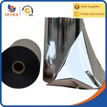 Metallized PET /Mylar Reflective film for solar cooking reflectors