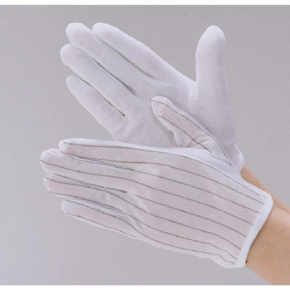 Cleanroom Electronics Industrial Machinery Good Quality Dotted Esd Gloves