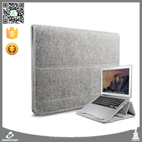 2015 Hot Sell 15 -16 Inch Wool Felt Carrying Laptop Protective Case