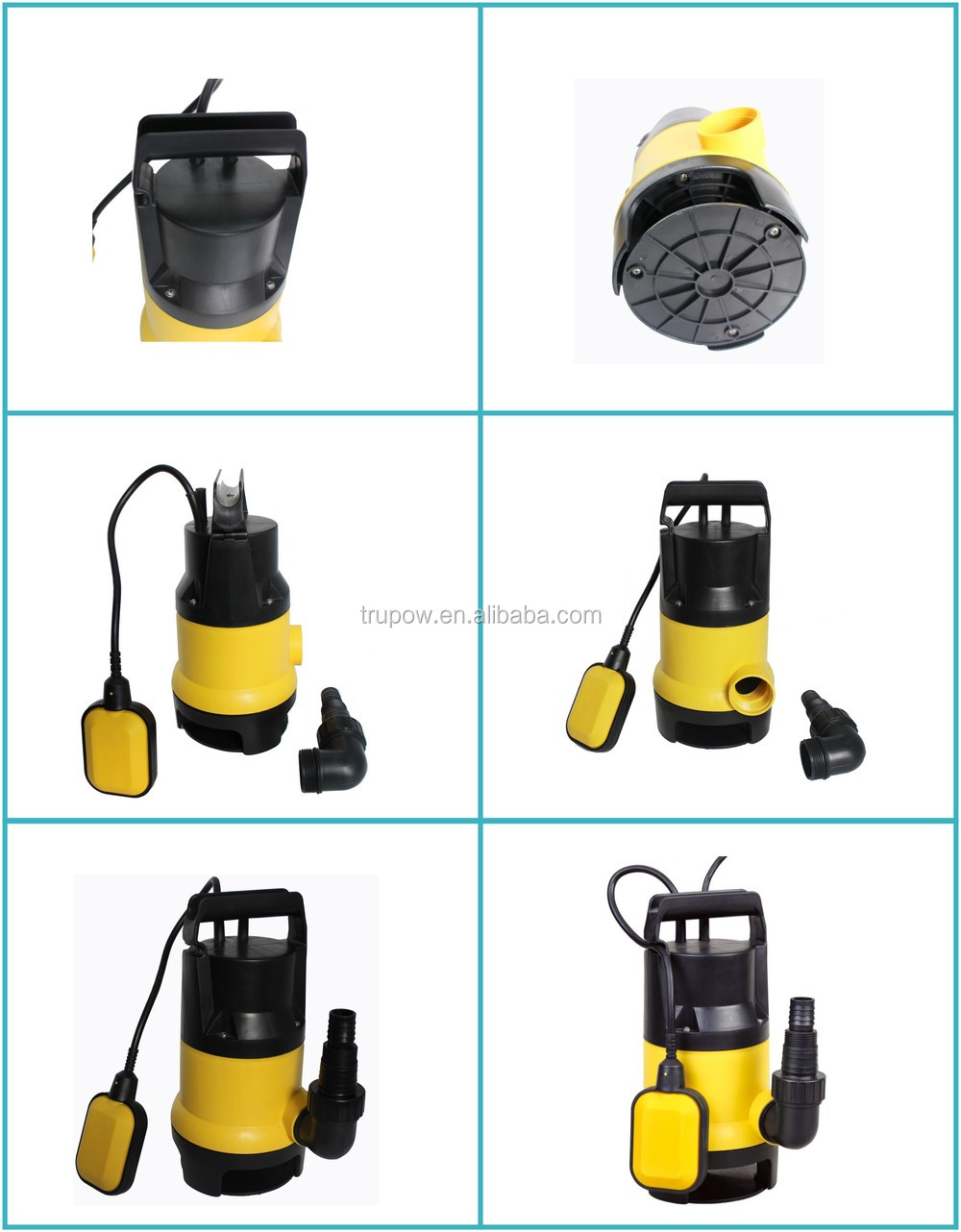 400W Cheap Model Dirty Water Submersible Electric Water Pump For House Use
