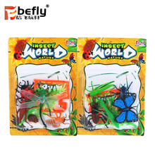 Promotional toy insect model small plastic animals