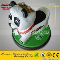 panda mini animal car amusement park equipment indoor bumper car/battery powered kids bumper car