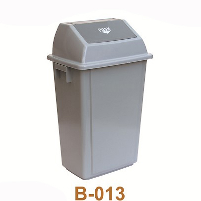 turning cover dustbin