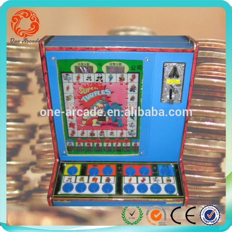 best quality pachislo slot machine aluminium token with colorful led for adult