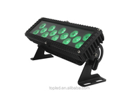 44W dmx led light RGB 3-in-1 led flood light IR remote control led wall washer for indoor & outdoor use