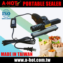 Portable Professional handheld Taiwan made 15cm OPP PVC bag Packing constant heat sealer