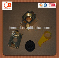 Shenzhen machining precision copper part/plastic component prototype with good quality maker
