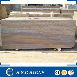 Cheap natural rainbow sandstone for flooring slabs