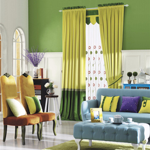 designer Cheap price Factory supplier luxury 100 polyester auto window curtain