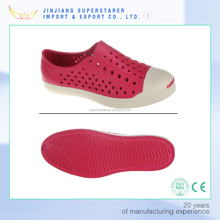 China factory classic casual shoes clogs eva native shoes