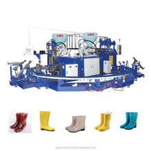 PVC two color children rain boot injection moulding machine