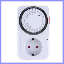 Energy Saving 24 Hour Mechanical Electrical Plug Program Timer Power Switch
