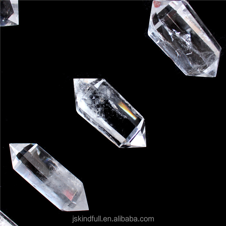 natural rock clear quartz crystal points wand for pendants crystal healing wands