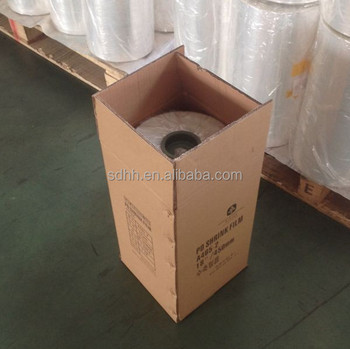 15 19 Mic polyolefin/Pof shrink wrap film