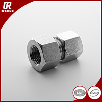 Carbon Steel Forged Hydraulic Ferrule Fittings Reducing Joint