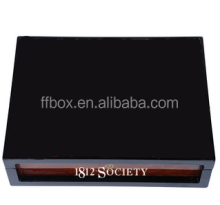 customized 1812 wooden box for credit vip card gift set display wooden watch cufflinks box