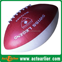 vintage leather PU training or match American football