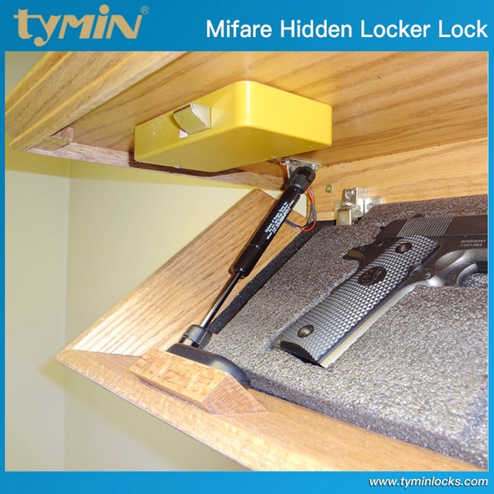 Home Furniture Lock Hidden Lock for Cabinet, Wall Shelf with Secret Compartment, with RFID Locking system