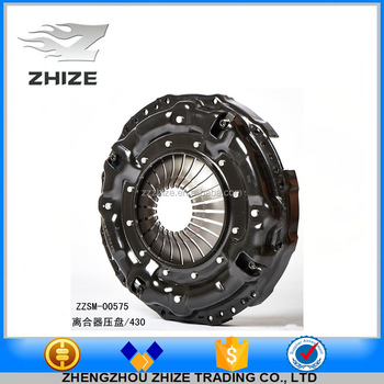 High-grade and high quality bus parts clutch compressing disc/clutch pressure plate for yutong kinglong higer bus