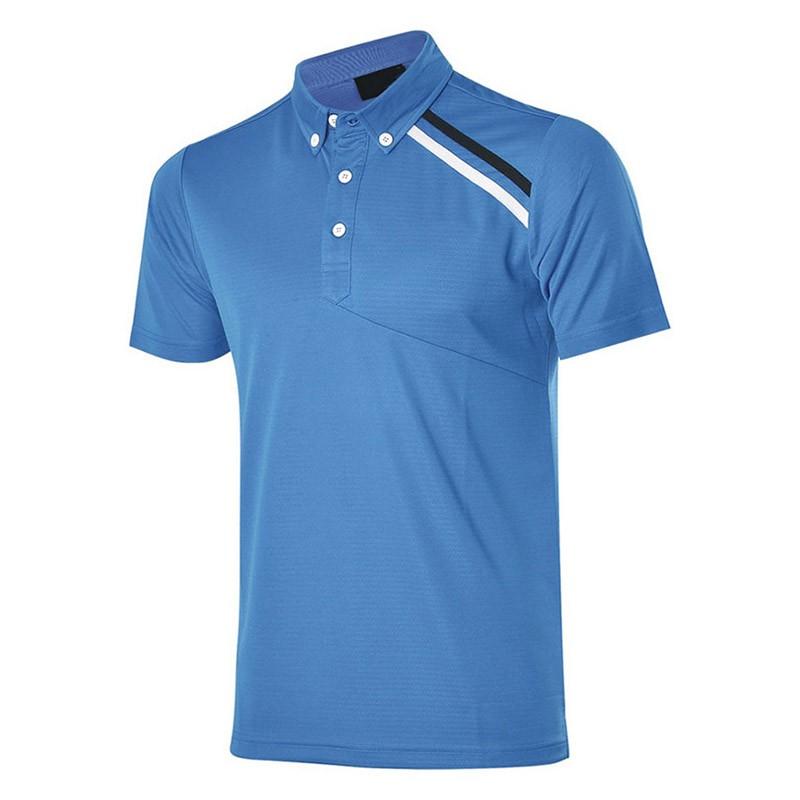 Men wicking tech golf shirt performance polo shirt buy for Men s performance polo shirts