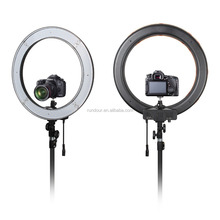 240 LED Ring Light RL-18 5500K Photography Dimmable Ring Lamp with Tripod stand for Camera Photo/Studio/Phone/Video