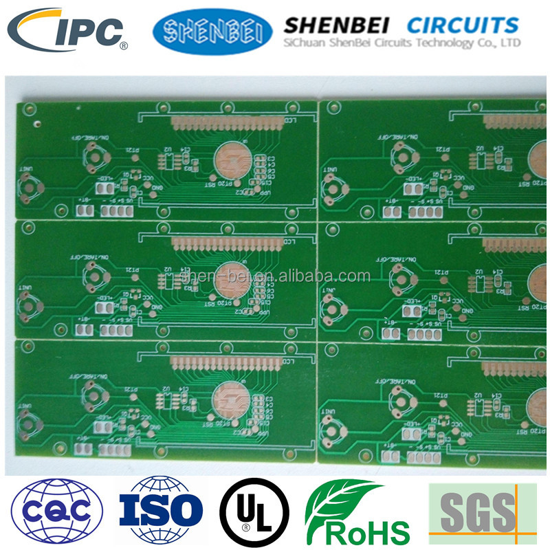 REACH certified 2-layer king board pcb