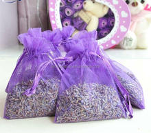 Mesh Natural Seed Scented Lavender Sachet