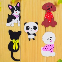 Decorative Anime Animals PVC Stickers Adhesive On The Wall/Door