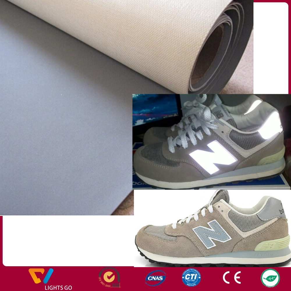 reflective pu leather