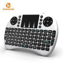 Best quality mini wireless/bluetooth keyboard with touchpad and backlight for smart tv,tablets, etc