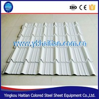 Factory Steel Color Glazed Tile Sheet/china roofing tiles types /steel roofing tiles price