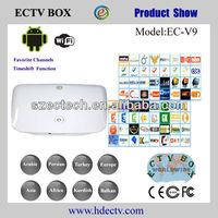 2013 newest arabic iptv box new style arab set top box
