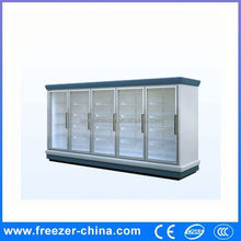 Glass door instant beverage cooler/commercial refrigerator