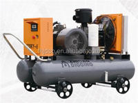 Super Large Power Capscity No Frame Belt driven Air Cooling Stationary Screw Air Compressor For Sale
