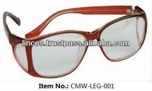 X-ray protection lead eye glasses
