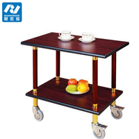 food trolley cart/trolley cart wooden