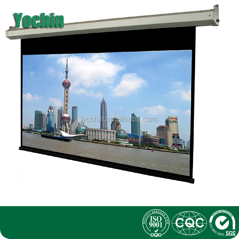 200 inc 4:3 Electric projector screen/electric style projector screen/120 inch projector screen