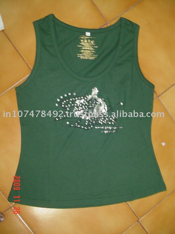 ladies T.shirts with print and studs