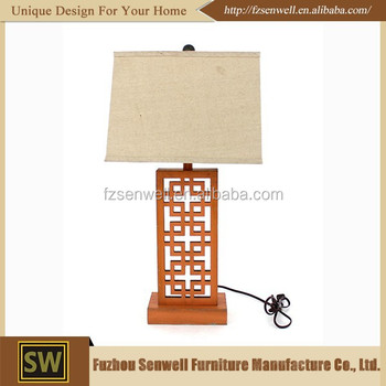 Study Desk Bedroom Decoration 220v Wood Table Lamp Modern