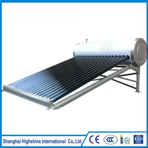 2017 latest fashion top design Non Pressure Vacuum Tube Solar Collectors Project Home Use Rooftop Low Water Heater