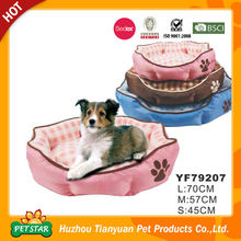 Discount!!! Comfy Waterproof Fabric Warm Fur Paw Shape Pet Bed For Dogs